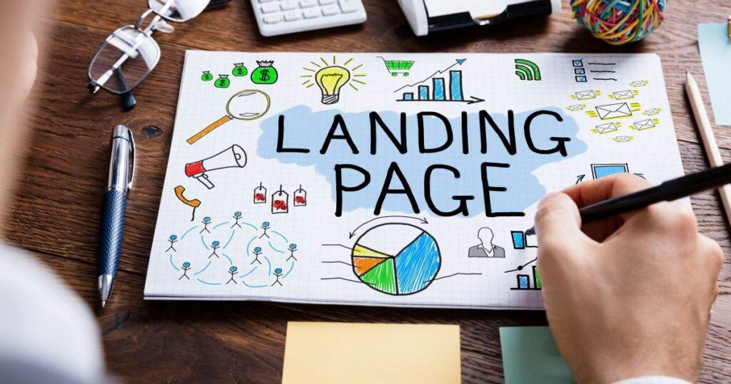 Criando landing pages